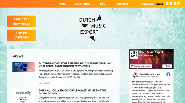 Dutch Music Export